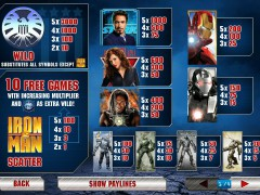 Iron Man 2 slotsgames77.com Playtech 2/5