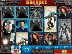 Iron Man 2 slotsgames77.com Playtech 3/5