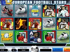 Top Trumps European Football Stars Slot - Electracade