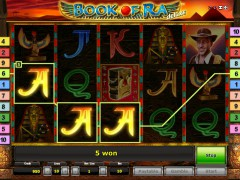 Book of Ra Deluxe slotsgames77.com Gaminator 3/5