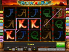 Book of Ra Deluxe slotsgames77.com Gaminator 4/5