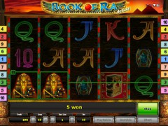 Book of Ra Deluxe slotsgames77.com Gaminator 5/5