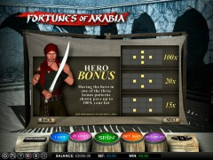 Fortunes of Arabia slotsgames77.com Omega Gaming 2/5