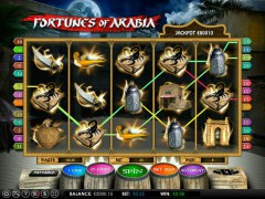 Fortunes of Arabia slotsgames77.com Omega Gaming 5/5