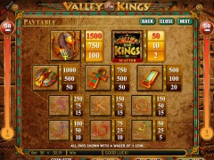 Valley of the Kings slotsgames77.com Genesis Gaming 3/5