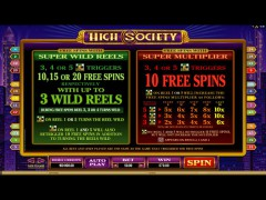 High Society slotsgames77.com Quickfire 3/5
