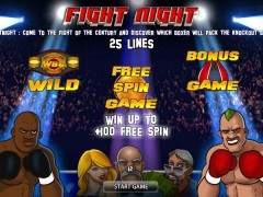 Fight Night slotsgames77.com World Match 1/5