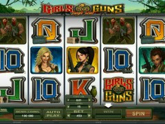Girls With Guns - Microgaming