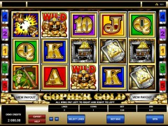 Gopher Gold - Microgaming