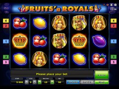 Fruits and Royals slotsgames77.com Novomatic 1/5