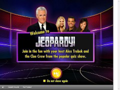 Jeopardy slotsgames77.com IGT Interactive 1/5