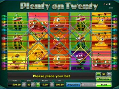 Plenty on twenty slotsgames77.com Greentube 3/5