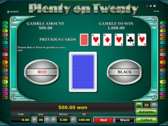 Plenty on twenty slotsgames77.com Greentube 5/5