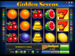 Golden sevens slotsgames77.com Greentube 1/5