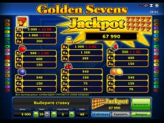 Golden sevens slotsgames77.com Greentube 2/5
