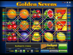 Golden sevens slotsgames77.com Greentube 3/5