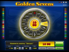 Golden sevens slotsgames77.com Greentube 5/5