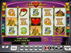 Queen of hearts slotsgames77.com Greentube 1/5