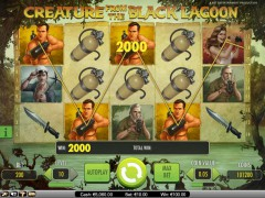 Creature from the Black Lagoon slotsgames77.com NetEnt 4/5