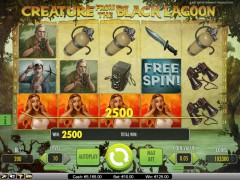Creature from the Black Lagoon slotsgames77.com NetEnt 5/5