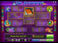 The Alchemist slotsgames77.com Novomatic 2/5