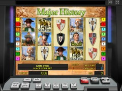 Major History slotsgames77.com Novomatic 1/5