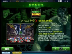 The Incredible Hulk slotsgames77.com Playtech 3/5