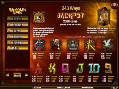 Shaolin Spin slotsgames77.com iSoftBet 2/5