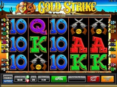 Gold Strike slotsgames77.com Microgaming 2/5