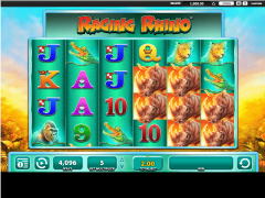 Raging Rhino slotsgames77.com William Hill Interactive 1/5