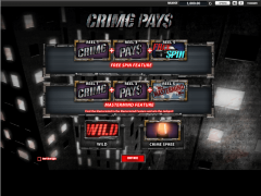 Crime Pays slotsgames77.com William Hill Interactive 1/5