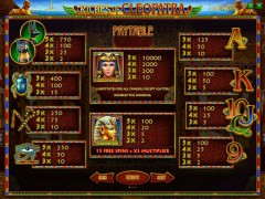 Riches of Cleopatra slotsgames77.com Playson 2/5