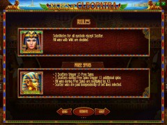 Riches of Cleopatra slotsgames77.com Playson 3/5