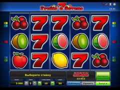 Fruits 'n Sevens slotsgames77.com Greentube 1/5