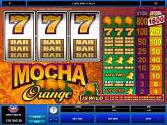 Mocha Orange slotsgames77.com Microgaming 1/5