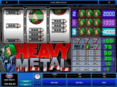 Heavy Metal - Microgaming