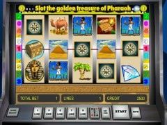 Golden Treasure of Pharaoh slotsgames77.com Novoline 1/5
