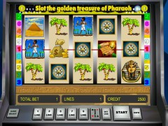 Golden Treasure of Pharaoh slotsgames77.com Gaminator 1/5