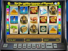 Golden Treasure of Pharaoh slotsgames77.com Gaminator 3/5