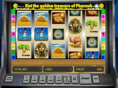 Golden Treasure of Pharaoh slotsgames77.com Gaminator 4/5