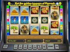 Golden Treasure of Pharaoh slotsgames77.com Gaminator 5/5