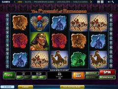 The Pyramid of Ramesses slotsgames77.com Playtech 1/5