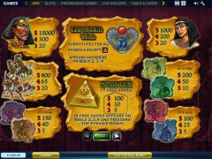 The Pyramid of Ramesses slotsgames77.com Playtech 2/5