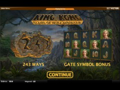 King Kong - Island of Skull Mountain slotsgames77.com Quickspin 1/5