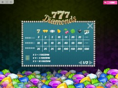 777 Diamonds slotsgames77.com MrSlotty 5/5