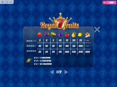 Royal7Fruits slotsgames77.com MrSlotty 5/5