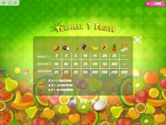 Tropical7Fruits slotsgames77.com MrSlotty 5/5