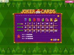 Joker Cards slotsgames77.com MrSlotty 5/5