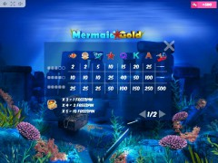 Mermaid Gold slotsgames77.com MrSlotty 5/5