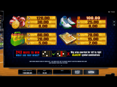 Basketball Star slotsgames77.com Microgaming 5/5